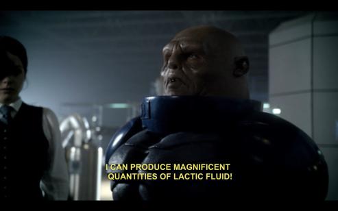 Lactic fluid Commander strax Sontaran